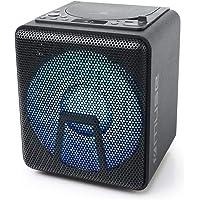 Muse M-1918 DJ Bluetooth party-luidspreker met accu, cd-speler en lichteffecten, USB, AUX, microfooningang, 100 watt…