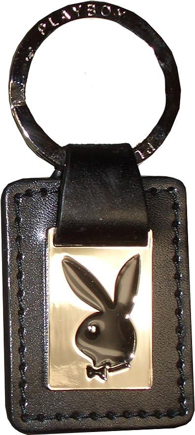 Playboy llavero Leather negro/cromo Unisex Medidas en cm ...