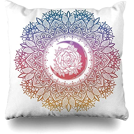 EVEI cushion covers Funda de Almohada de Tiro Pastel Barroco ...
