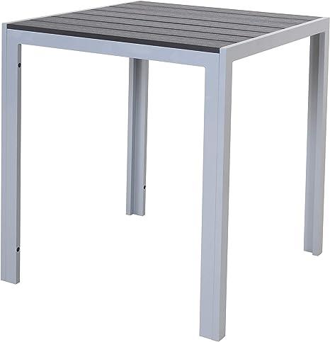 Chicreat T160 411 Tables Picnic Silver And Black 70 X 70 X 75cm Amazon It Giardino E Giardinaggio