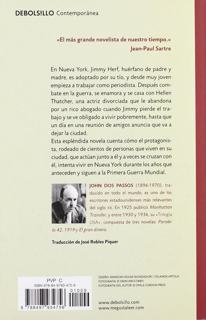 Manhattan Transfer (Contemporanea / Contemporary) (Spanish Edition): John  Dos Passos: 9788497934756: Amazon.com: Books