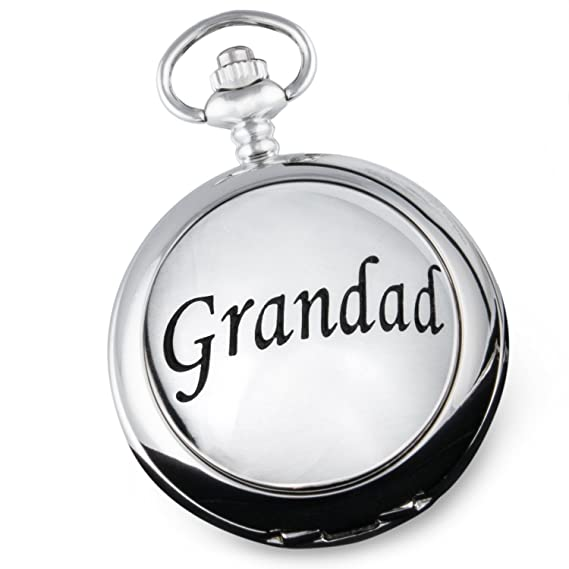 Orologio da tasca con scritta in inglese