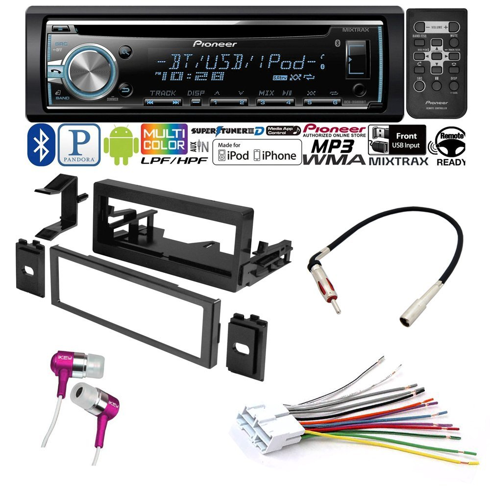 CAR CD STEREO RECEIVER DASH INSTALL MOUNTING KIT WIRE HARNESS CADILLAC CHEVROLET GMC 1995- 2005 by American International , Metra, Scosche