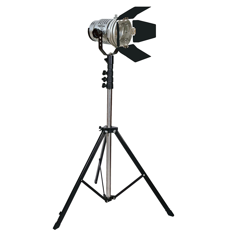 LPL ビデオライト スタジオ&ロケーションライト TL-500 スタンド付 L25731 TL-500スタンド付き  B0017S3WI6