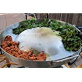 Heavy Duty Comal Convex Stainless Steel Acero Inoxidable Outdoors Frying Bowl Cookware for Stir Fry Home