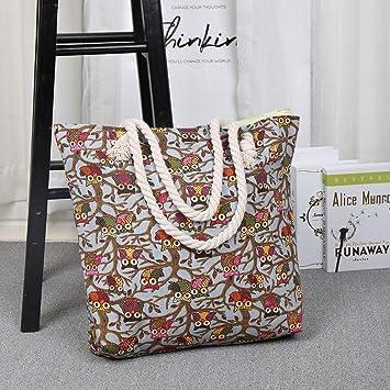 KCPer bolsas de compras de lona con asas – bolsas de tela para ...