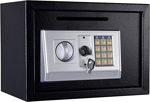 Durable Digital Electronic Safe Box Keypad Lock Home Office Hotel Gun Black BT
