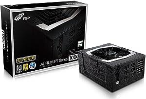 FSP PT Series 1000W ATX 12V v2.4 and EPS 12V v2.92 80 Plus Platinum Certified Full Modular Active PFC Power Supply (PT-1000FM)
