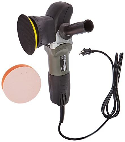 Hardin HVRO-38 Random Orbital Polisher, 1800-7000 RPM, 7 Amp, 800 Watt, w 5 Velcro and 5 Buffing Pad