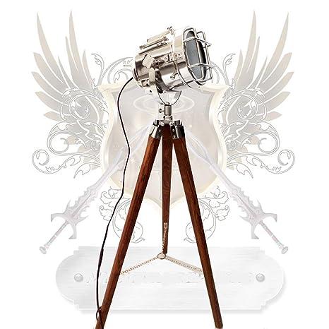Lámpara de pie, diseño de foco vintage