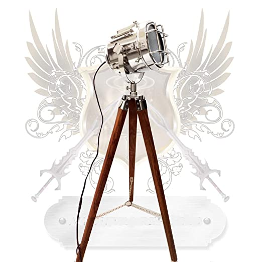 Lámpara de pie, diseño de foco vintage: Amazon.es: Iluminación