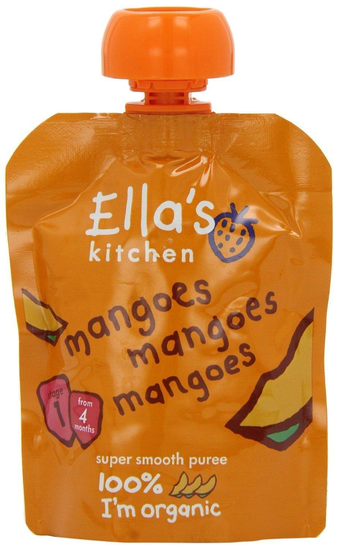 Ella's Kitchen - First Tastes - Mangoes - 70g (Case of 7)
