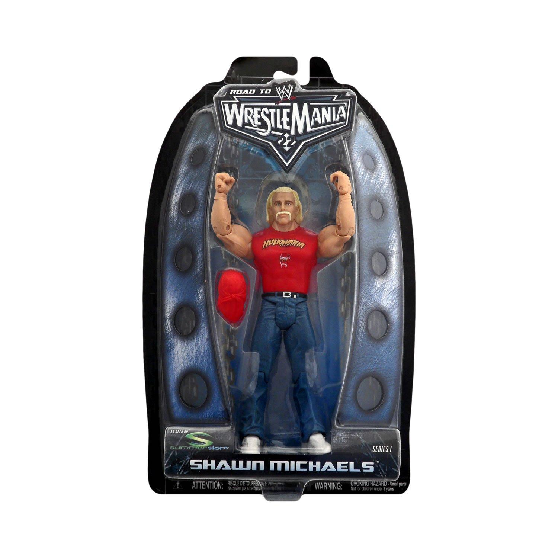WWE Road To Wrestlemania Shawn Michaels Dressed as Hulk Hogan Figure - Toys R Us Exclusive