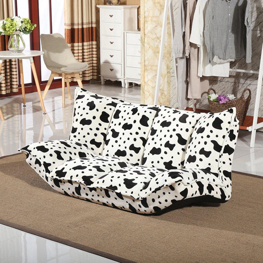 QIQ Ausziehbarer Couch Sofa,Lässige Lazy Couch,Niedlichen Einzelzimmer Computer Sofa