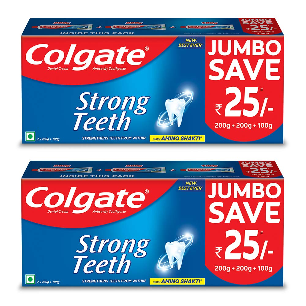 Colgate  Anticavity Toothpaste – (Pack of 2)