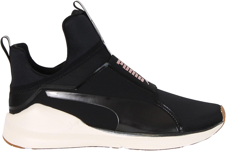 baskets puma femme noire