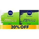 NIVEA Face Urban Detox Day Crème 50 ml +Face Urban Detox Night Crème Free