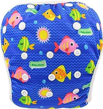 Boys Girls Baby Unisex Swim Diaper Pant Washable Reusable Breathable Cover K