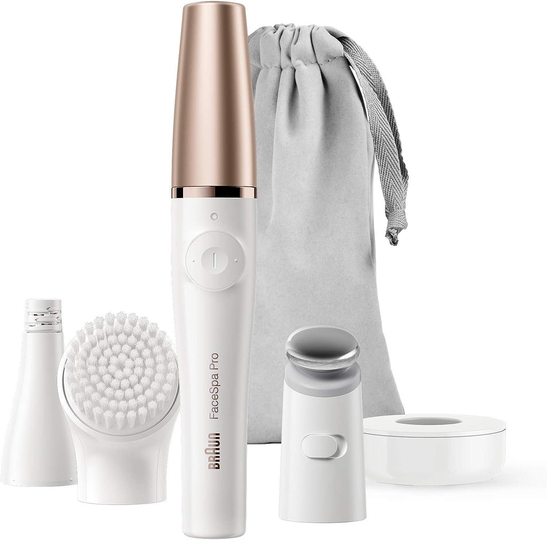 Imagen representativa de la Depiladora eléctrica Braun FaceSpa Pro 911 disponible en Amazon