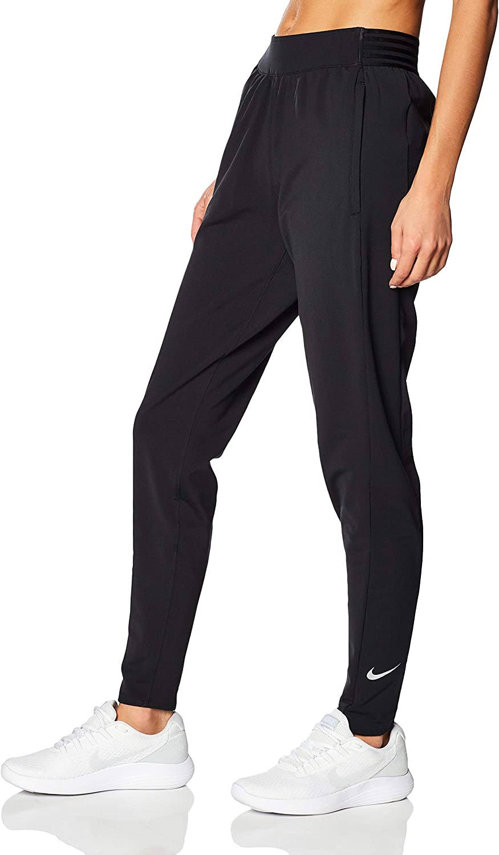 Bajo Escalera Criticar  Amazon.com : Nike Essential Pants Warm Black/Reflective Silver XL : Clothing
