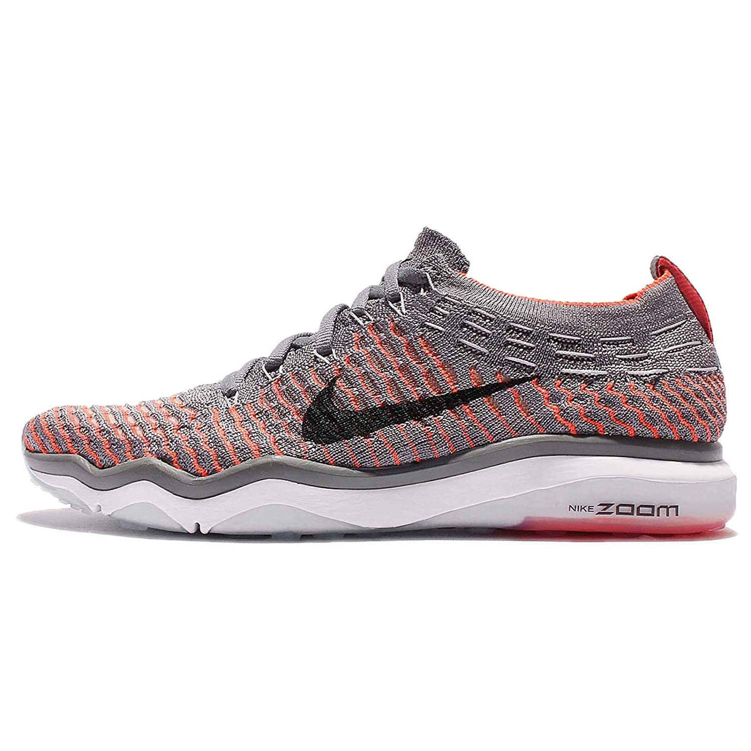 NIKE Women's Air Zoom Fearless Flyknit Running Shoes B008OQVG46 7.5 B(M) US|Cool Grey/Black-total Crimson