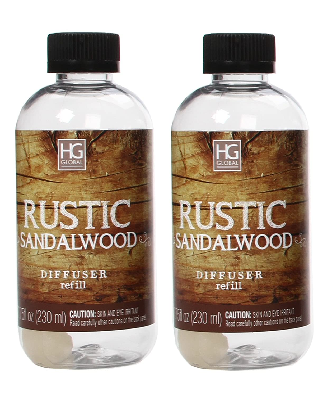 Hosley's Set weddings, of 2 Premium Rustic Refills Sandalwood Reiki, Reed Diffuser Refills Oil, 230 ml (7.75 fl oz) Made in USA. BULK BUY. Ideal GIFT for weddings, spa, Reiki, Meditation settings W1 B07B5MRVWJ, A.BOMBER:a2af36cb --- cosp.top