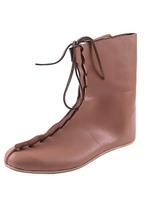 Romanas Auxiliar botas, 4th XIX n, A.C, de cuero - zapatos romanos -