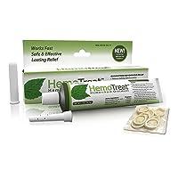 Hemorrhoid Treatment Cream FDA Listed - HemoTreat 1 Oz Tube with Internal Applicator...