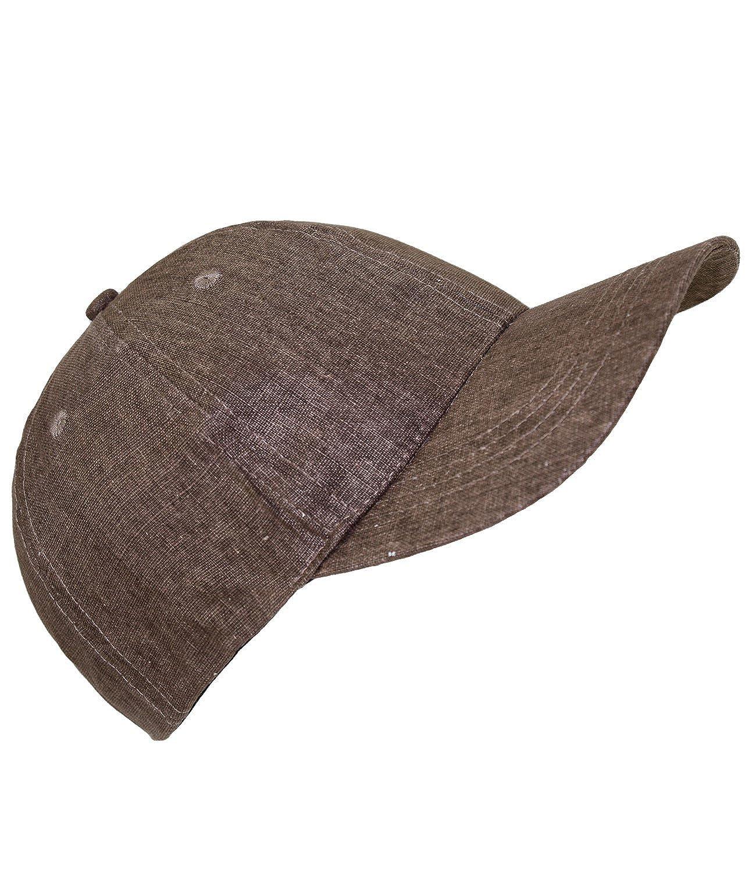 EveryHead Fiebig Damenbasecap Basecap Baseballcap Schirmm/ütze Schildm/ütze Freizeitm/ütze Sportcap Cap Leinen einfarbig f/ür Frauen inkl Hutfibel FI-47453-S17-DA1