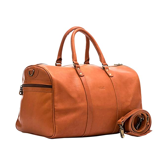 Amazon.com | Velez Mens Genuine Colombian Leather Designer Handbag Travel Bag Doctor Bag Bowling Bag | Bolsos y Carteras de Hombre de Cuero Colombiano Honey ...