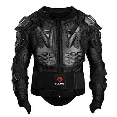 GuTe Motorcycle Protective Jacket,Sport Motocross MTB Racing Full Body Armor Protector for Men (XL): Automotive [5Bkhe0111425]