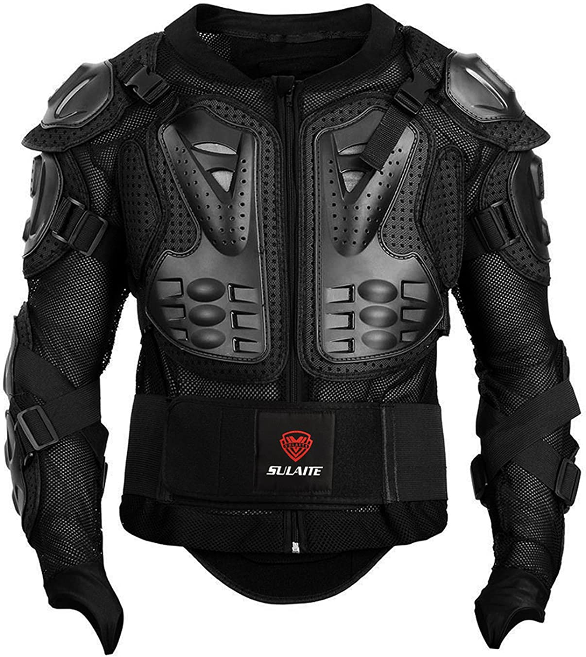 GuTe Motorcycle Protective Jacket,Sport Motocross MTB Racing Full Body Armor Protector for Men: Clothing