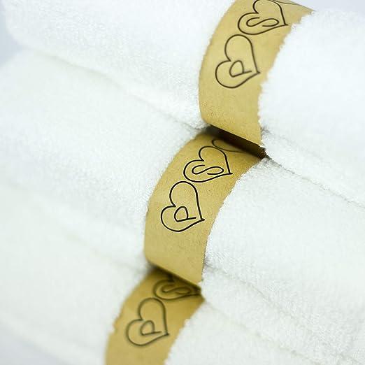 Amazon.com: PSL Solutions - Juego de toallitas de baño de ...