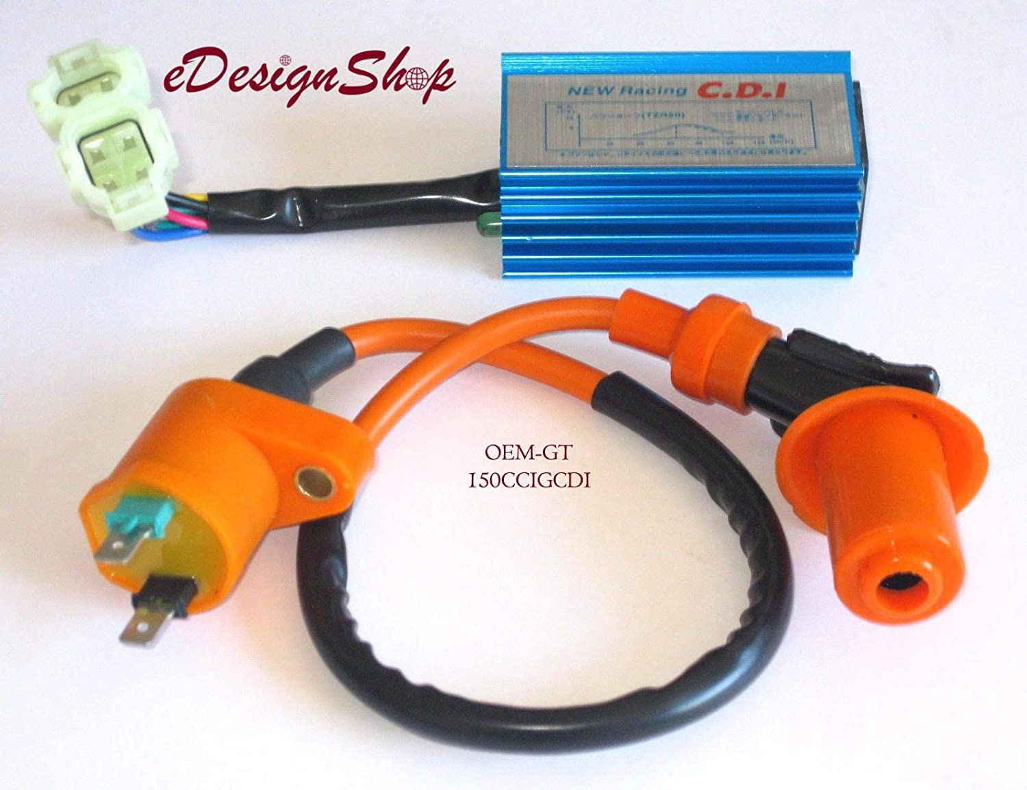 HIGH PERFORMANCE CDI /& IGNITION COIL FOR YERF DOG SPIDERBOX 150 150CC GO KART