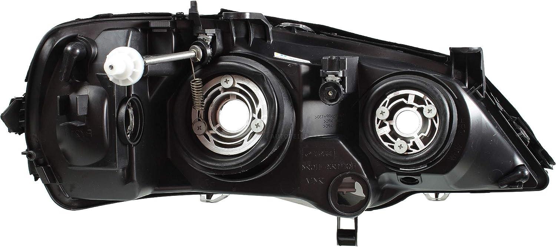 Scheinwerfer Set schwarz Astra G Bj 98-09 Osram H7//HB3 f/ür elektr LWR