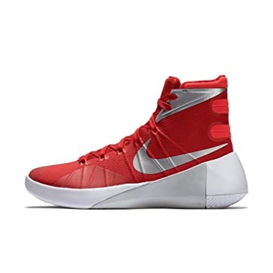 half off e1218 f02e0 ... white metallic silver black us 83867 03715  official nike hyperdunk 2015  red womens basketball sneakers 8.5 us 6ee87 1c903