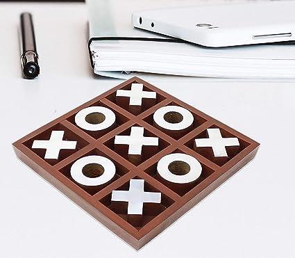 Amazon Com Hind Handicrafts Classic Handmade Vintage Wooden Tic Tac