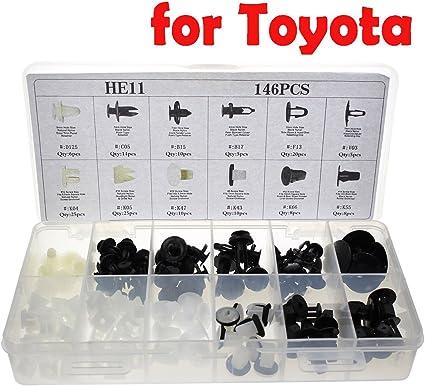 Car Rivets Clip Fasteners for Lexus Toyota Door Hood Bumper Trim Body Retainer