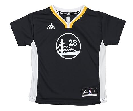 official photos d035e 76f5b adidas NBA Golden State Warriors Draymond Green Kids Replica Jersey #23,  Black