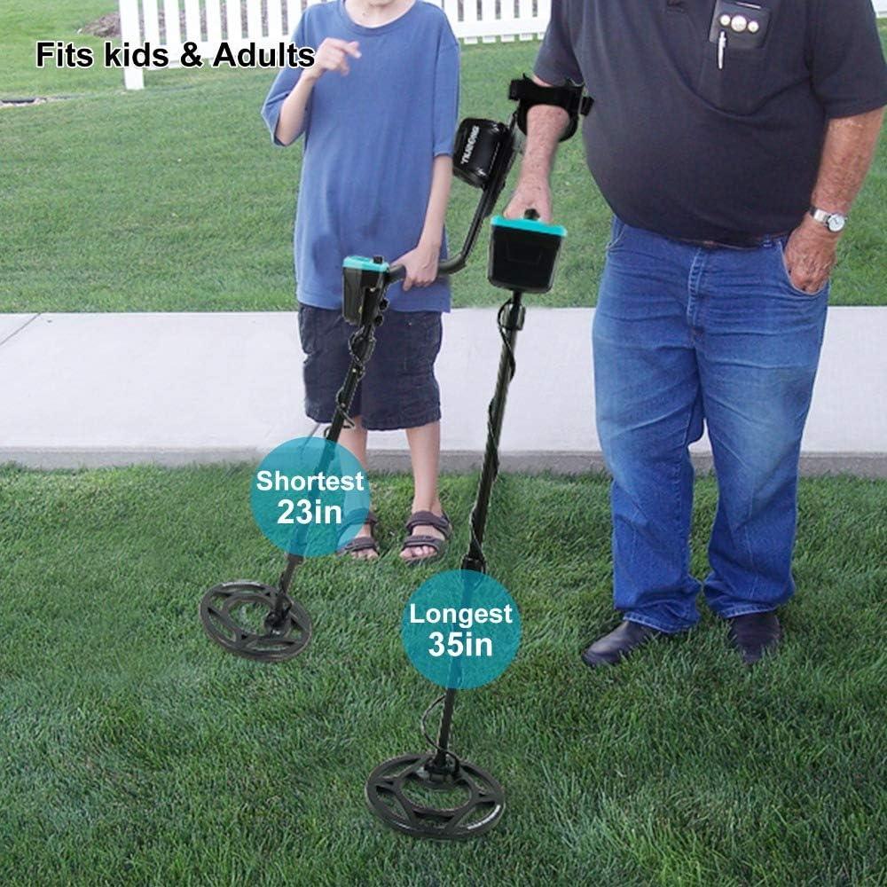 MOIMK Detector de Metales Resistente al Agua subterráneo del Detector de Metales de Alta precisión de 2,0 m Pinpiont Buscador de Oro Buscador de Tesoros: Amazon.es: Hogar