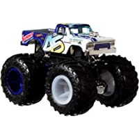 Hot Wheels Monster Trucks 1:64 Arabalar, Büyük Tekerlekli, FYJ44