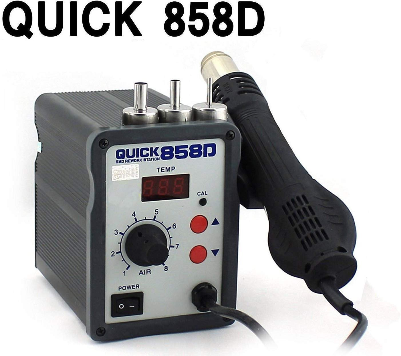 Best Rated In Industrial Robotics Helpful Customer Reviews Temperature Status Indicator Circuit And Hacked Hot Glue Gun Buyyart 858d New Quick Anti Electrostatic Air Rework Station Smd Product Image