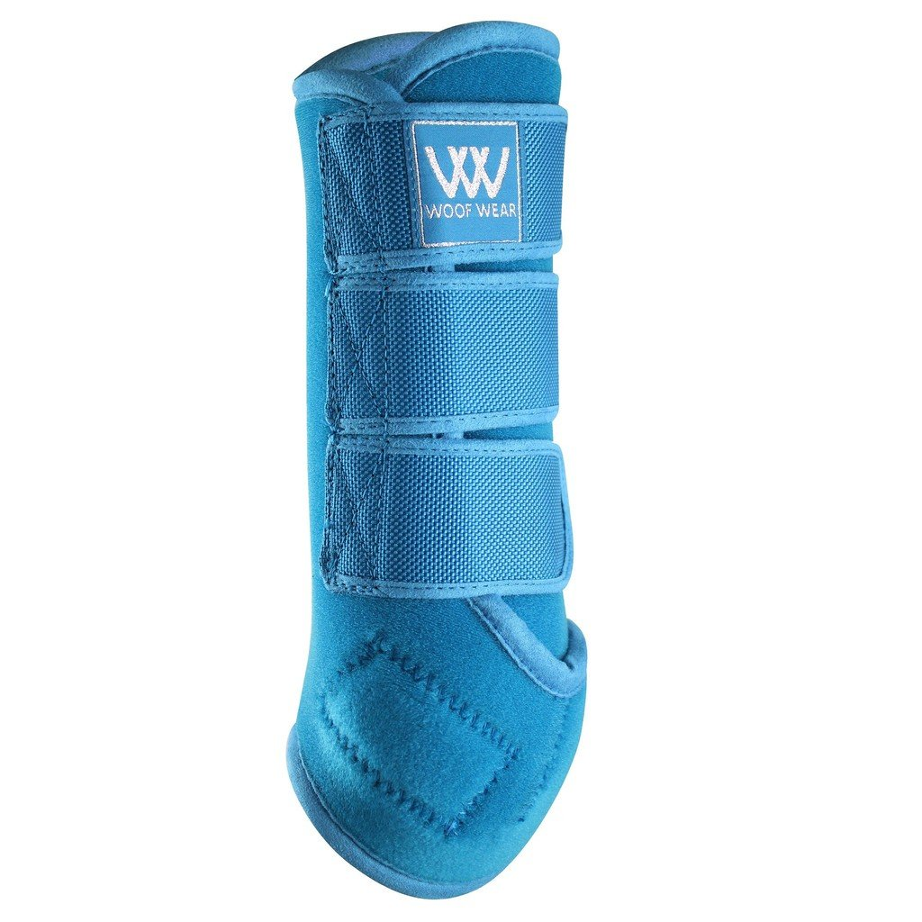 WOOF WEAR Dressage Wraps Large Turquoise