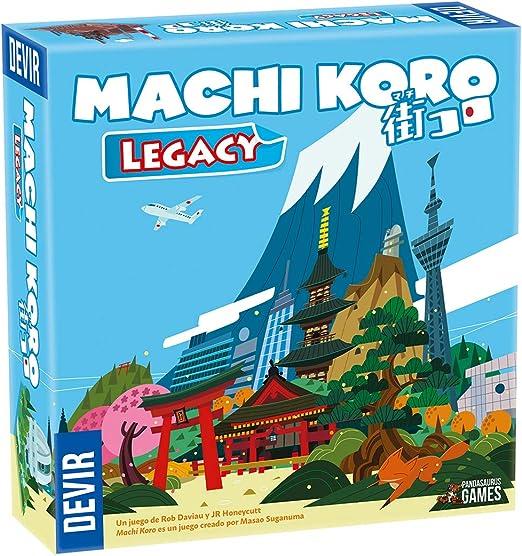 Devir- Machi Koro Legacy (8436017229530): Amazon.es: Juguetes y juegos