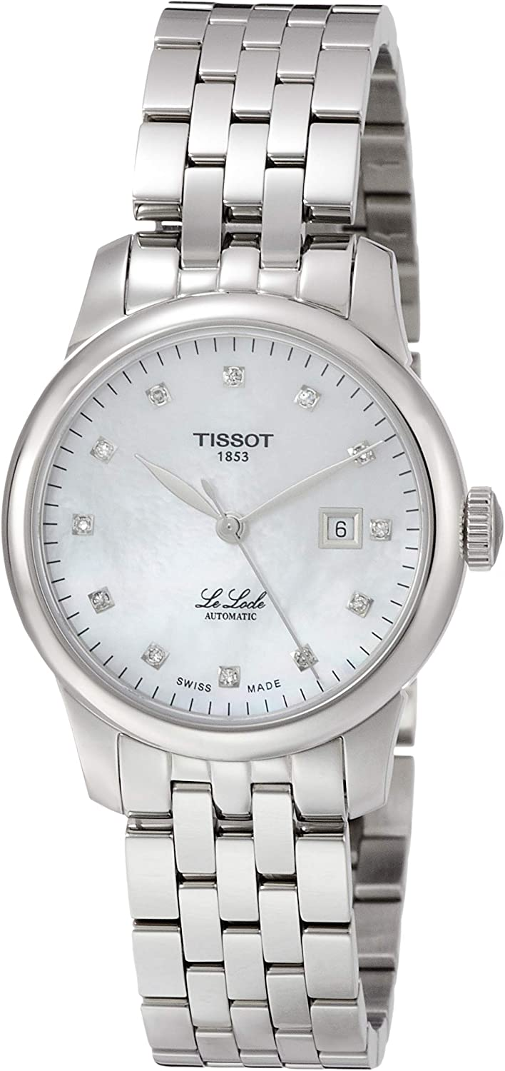 Tissot Women's Le Locle Swiss Automatic Stainless Steel Dress Watch T0062071111600