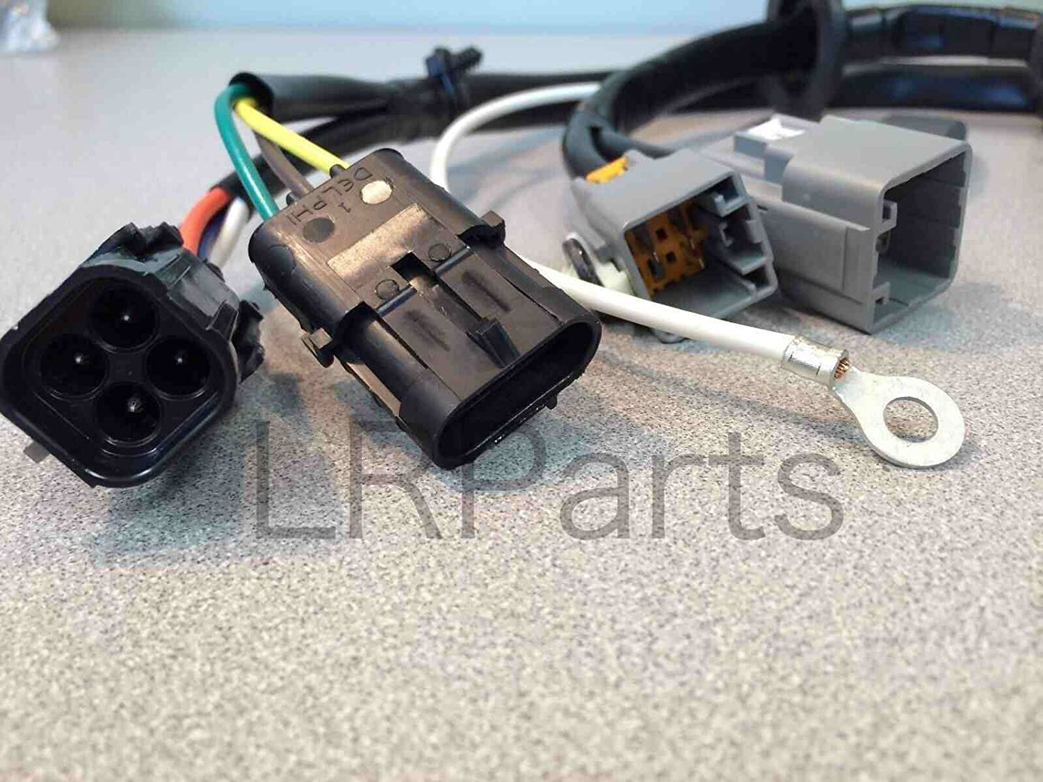 Amazon.com: Proper Spec Land Rover LR3 Tow Hitch Trailer Wiring Harness  Electric YWJ500220 New: Automotive
