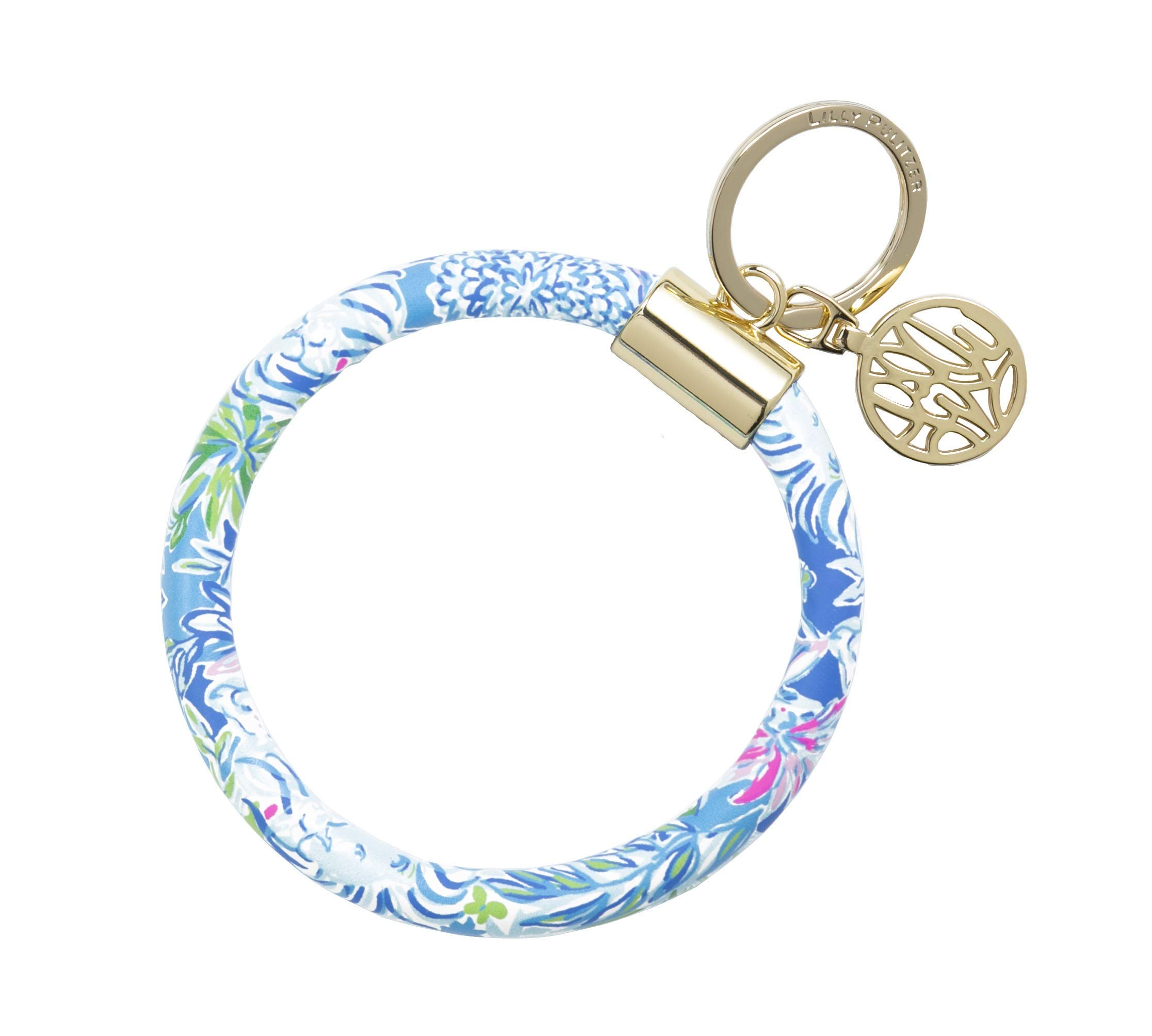 Lilly Pulitzer Bracelet Key Ring Chain, Lion Around by Lilly Pulitzer