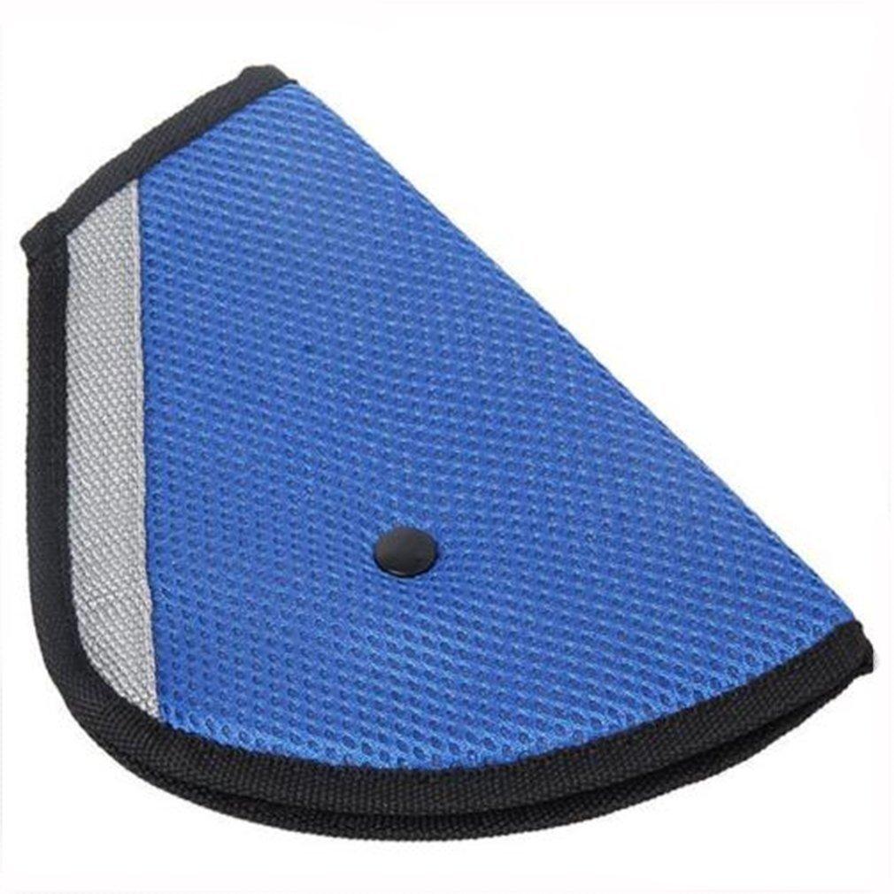 HS Seatbelt Adjuster Seat Belt Safety Covers Adult Children Seat Belt Clips 1PC (Blue)