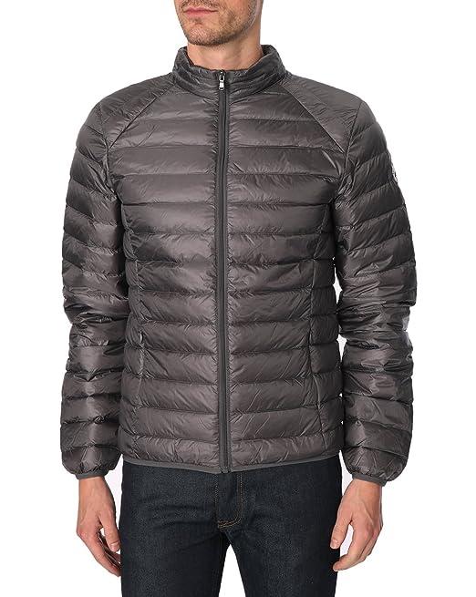 JOTT - con instrucciones para coser chaquetas de plumón de - de hombre - Chaqueta de moto alfombrilla de gris oscuro globo para hombre: Amazon.es: Ropa y ...