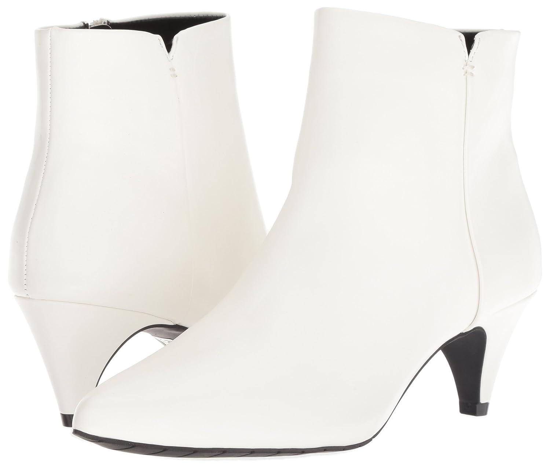 Kenneth Cole REACTION Women's Kick Bit Boot Kitten Heel Bootie Ankle Boot Bit B079G14FN1 8 B(M) US White 228cf8